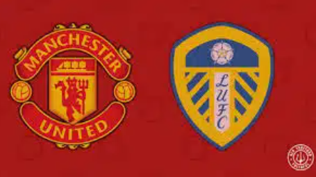 Manchester United beating Leeds United 5-1